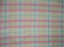 Ancien coupon de tissus Vintage en coton molletonné - linge ancien