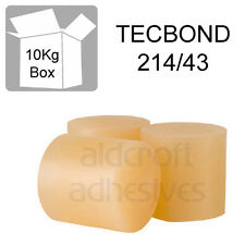 TECBOND 214/43 Hot Melt 43mm, 10kg Amber,Packaging, Glue Sticks