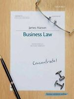 (Good)-Business Law Concentrate: Law Revision and Study Guide (Paperback)-James