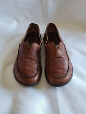 Mens Born Size 12 M Winward Loafer Moc Toe Slip-on H30806 Brown Leather