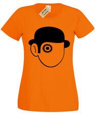 Clockwork Orange T-Shirt Womens Ladies Retro Film Cult Classic