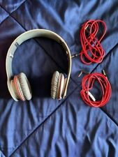 Beats by Dr. Dre Solo HD Headband Headphones - White CIB