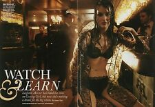 Leighton Meester 7pg + cover ALLURE magazine feature, clippings