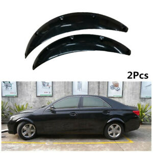Car Truck SUV Body ABS Wheel Eyebrow Covers 2Pcs For Fender Flares Mud Flaps