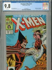 1987 MARVEL UNCANNY X-MEN #222 WOLVERINE VS. SABRETOOTH CGC 9.8 WHITE BOX11