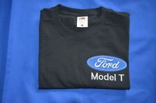 FORD MODEL T FRUIT OF THE LOOM T/SHIRT EMBROIDERED IN UK (not printed)