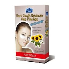 PUREDERM - DARK CIRCLE REDUCER EYE PATCHES (SUNFLOWER)