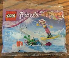 LEGO Friends Polybag 30402  Snowboard Tricks NEW