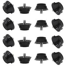 12 Hard Surface Replacement Rubber Football Studs For Hard/Artificial Ground