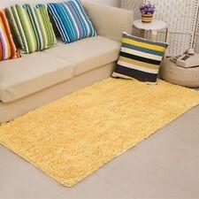 Soft Microfiber Shaggy Non-Slip Absorbent Bath Mats Bathroom Shower Rugs Carpet