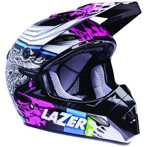 Lazer Motocross Helmet MX8 PURE GLASS PG MX Dirt Bike Motorbike Adult XL