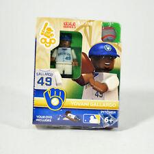 Yovani Gallardo #49 Brewers Series 3 G3LE Baseball OYO MiniFigure