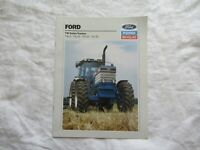 1989 Ford New Holland TW5 TW15 TW25 TW35 TW series tractors brochure