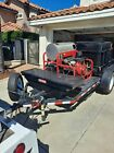 Fully Reconditioned Hot Water Pressure washer trailer