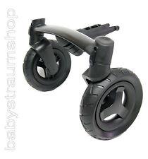 Quinny Buzz 4 Original Vorderradachse Vorderrad Ersatzrad Rad Achse schwarz*NEU*
