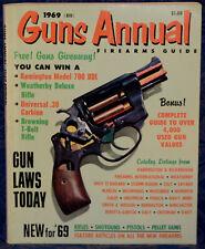 Magazine GUNS Annual 1969 !AIR GUNS: CROSMAN, BSA, DAISY!, *Black Powder GUNS*