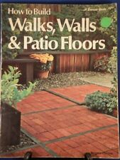 How to Build Walks, Walls and Patio Floors (Sunset