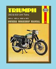 MAN137 Haynes Manual Triumph 350 & 500 Unit Twins 1958 to 1973