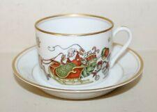 St Nicholas Santa Fitz & Floyd Christmas Cup & Saucer Vintage Made In Japan