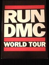RUN DMC-1986-RAISING HELL TOUR CONCERT PROGRAM BOOK