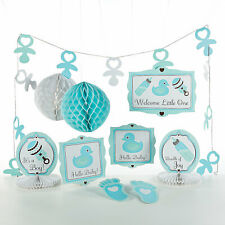 Baby Boy Decorating Kit - Party Decor - 10 Pieces