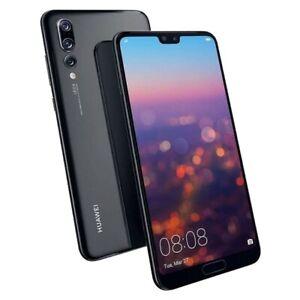 Huawei P20 Pro  6GB RAM-128gb- Unlocked- Smartphone- Black - (CLT-L09)