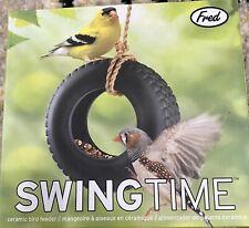 Tire Swing Wild Bird Feeder