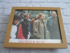 Framed Lobby card Front of house Press Promo Photo Another woman woody allen