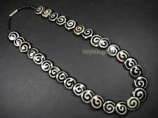 N4187 Ethnic Spiral Bone Tribal Naga Gypsy Handmade Fashion NECKLACE TIBETAN