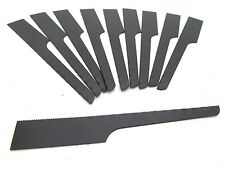 10Pcs Air Body Saw Blades 32TPI Bi-Metal Black Reciprocating Heavy Duty Fast Cut