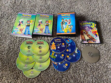 Lot Of Pokemon Movies advanced complete collection DVD galactic battles and 3