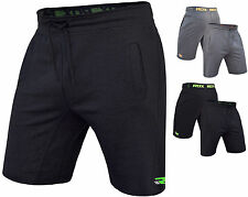 RDX Boxe Fleece Shorts MMA, Gym Bottoms Mens Sports Gym Pants Boxing Running