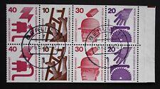 Berlin 1974 H-Bl. Mi.Nr. 17 Unfallverhütung - Vollstempel Berlin 15