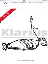 OE Quality Klarius  Cat Catalytic Converter Exhaust Type Approved 311815