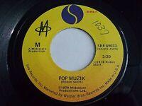 M Pop Muzik / M Factor 45 1978 Sire Vinyl Record