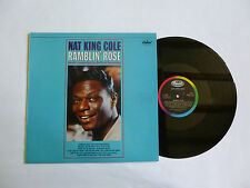 NAT KING COLE ~ RAMBLIN' ROSE ~ EMS 1115 ~ QUALITY NEAR MINT UK VINYL LP ~ DMM