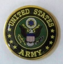US Army lapel pin, proudly made in America