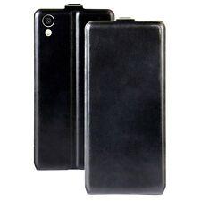 étui à rabat Noir pour Sony Xperia XA1 de protection housse coque arrière