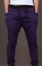 Mens Casual Jogger Dance Sportwear Baggy Harem Pants Slacks Trousers Sweatpants