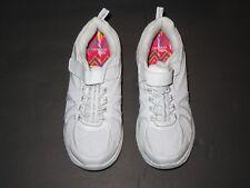 Danskin Now glittered white girls tennis shoes Sz 2 NWoT