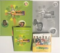 Pearson My World Geography Homeschool Bundle + DVDs Teacher Resource Library