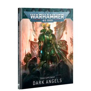 Codex Dark Angels Hardcover Book 9th Edition Space Marines Warhammer 40K NEW
