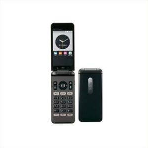 KYOCERA KYF31 GRATINA 4G WIFI KEITAI ANDROID FLIP PHONE BLACK UNLOCKED