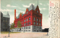 Armour Institute, Chicago, Illinois, Early Postcard, Used in 1906