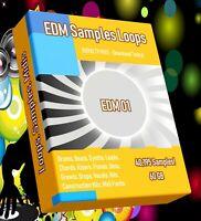 40,500 EDM Samples WAV Loops FL Studio Reason Ableton Logic Pro Cubase Studio