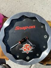 This Works!!!! Snap-On tools wall clock shop man cave garage 85th anniversary