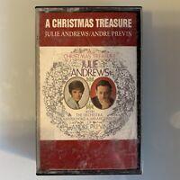 Julie Andrews Andre Previn A Christmas Treasure (Cassette)