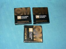 OLYMPUS  OM System FOCUSING  SCRENN
