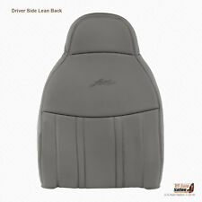1997 1998 Ford F150 Lariat - Driver Lean Back Lean Seat Cover Med Graphite Gray