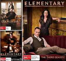 ELEMENTARY Seasons 1 2 3 : NEW DVD